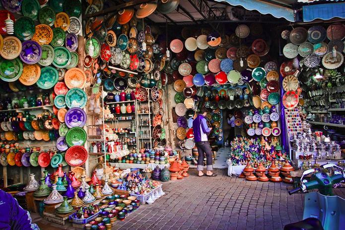 агадир рынок