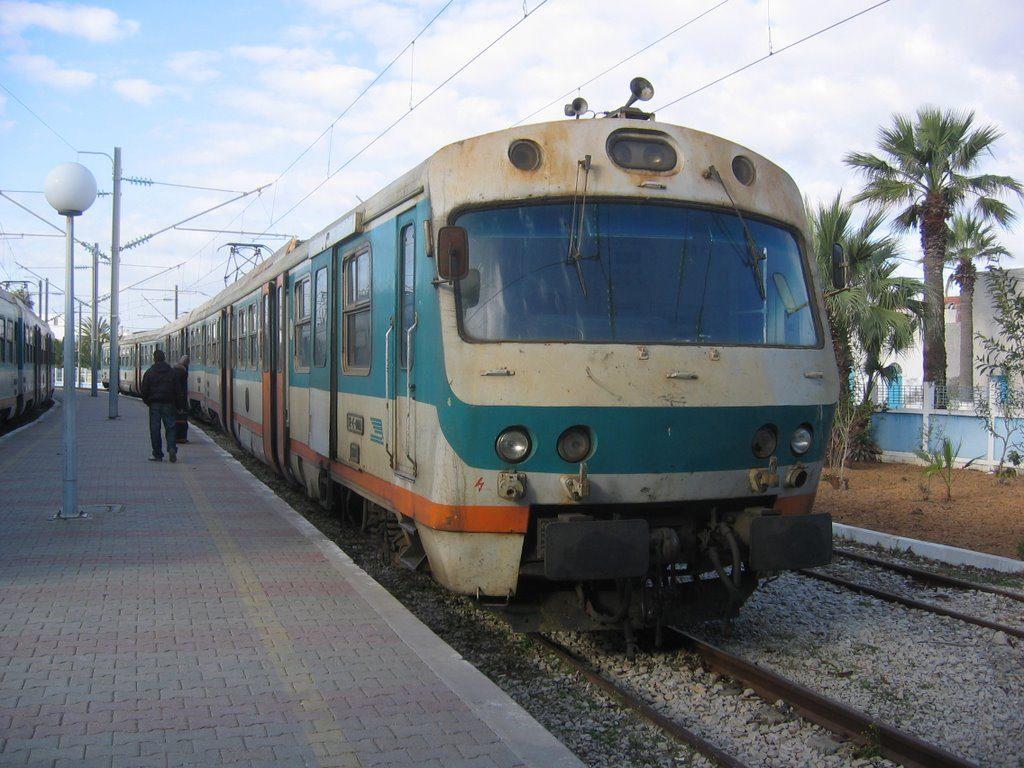 поезд тунис